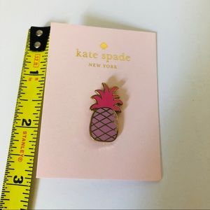 kate spade Jewelry - Kate Spade Pineapple Pin 🍍